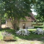 le jardin Ferme du Buisson chambres d'hôtes à Briare
