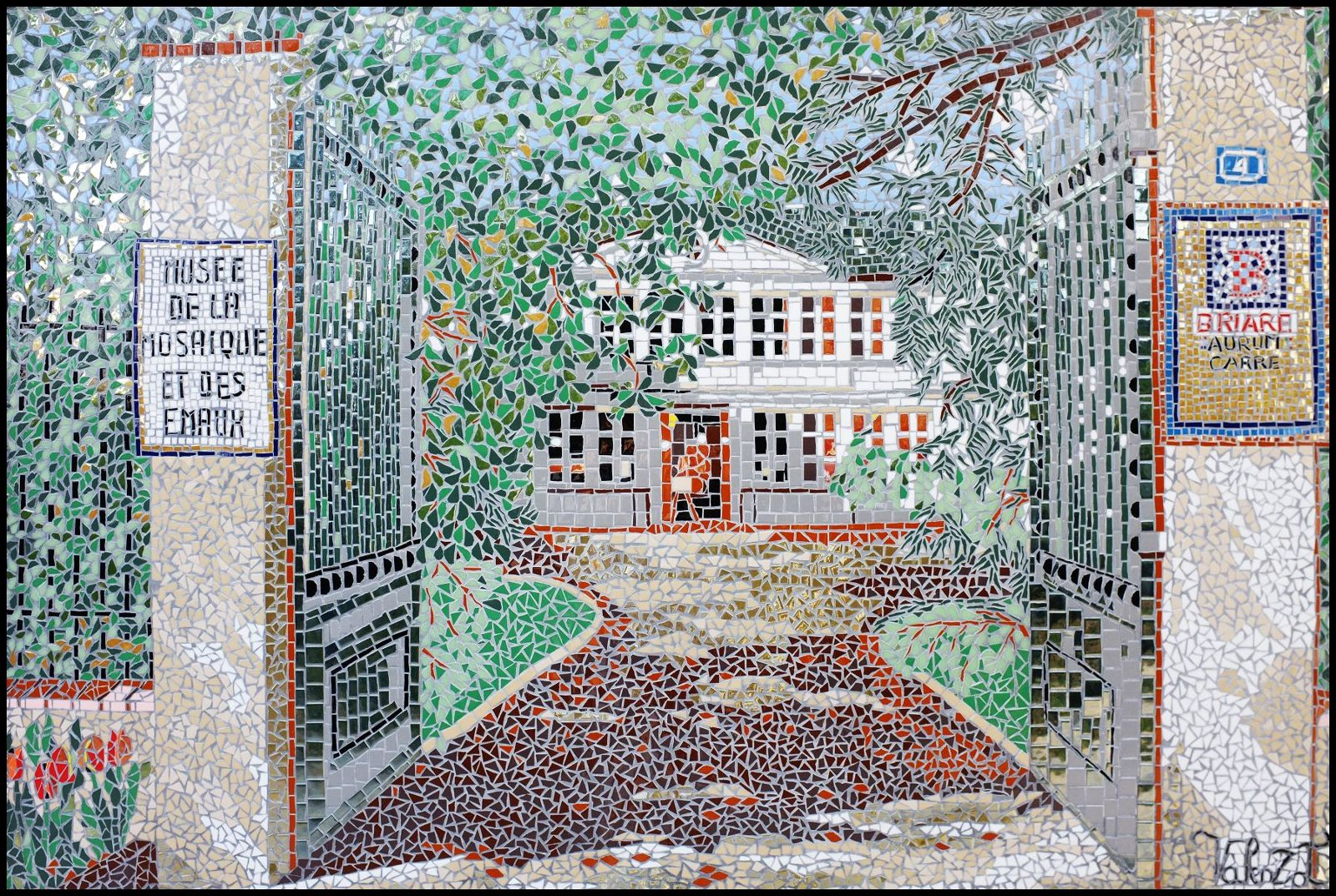 le musée des émaux Le Buisson chambres hôtes Briare