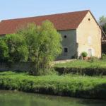 Le Buisson vu depuis la Loire à vélo -chambre hôtes Briare
