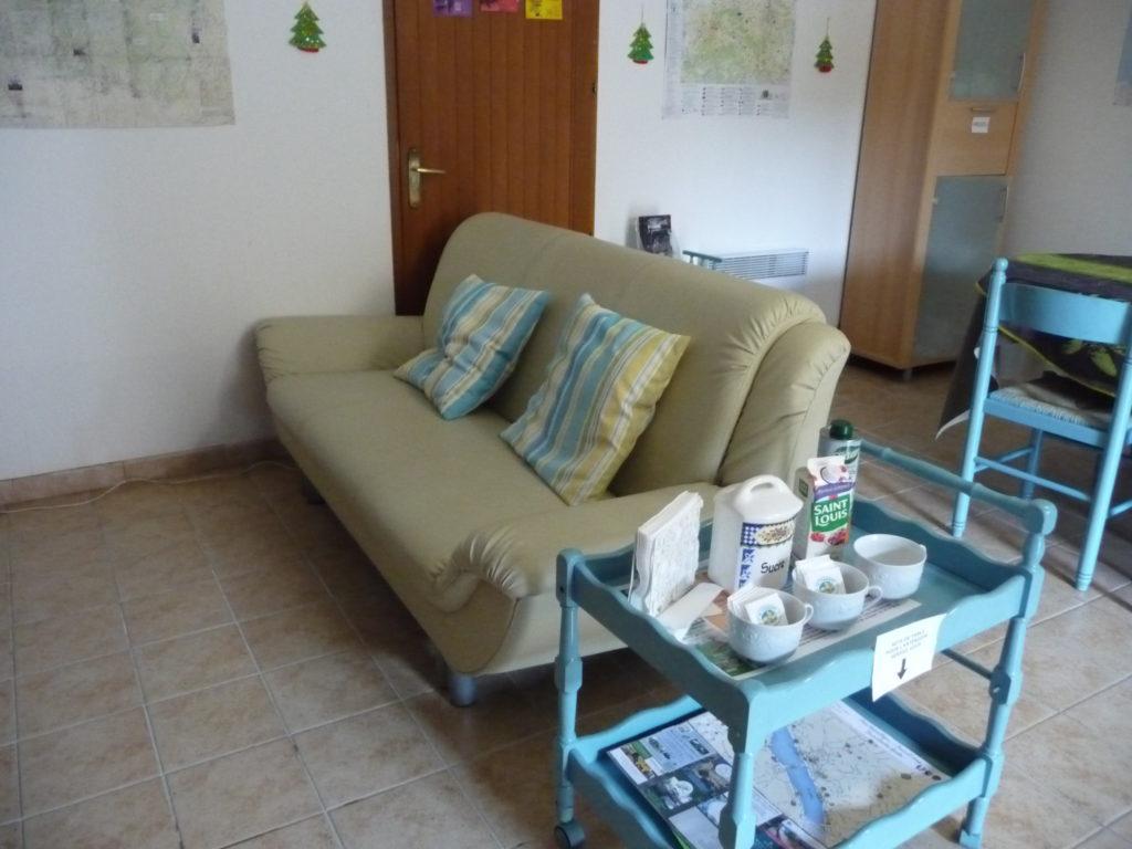 salle commune le Buisson chambres d'hôtes à Briare