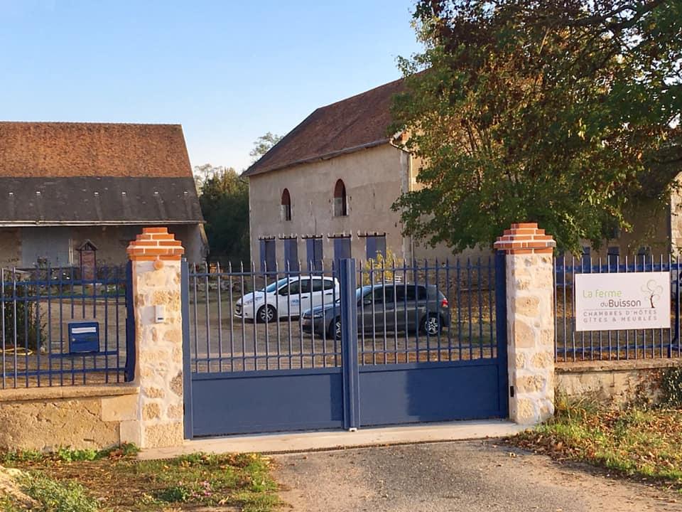 la Ferme du Buisson -chambre hôtes Briare